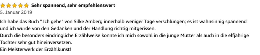 Amazon2 Rezension